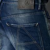 G-Star RAW® A-CROTCH 3D LOOSE TAPERED Bleu moyen