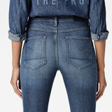 G-Star RAW® 3301 High Waist Super Skinny Jeans Bleu foncé