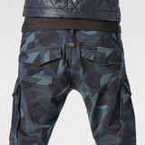 G-Star RAW® Rovic Slim Pants Dark blue model back zoom