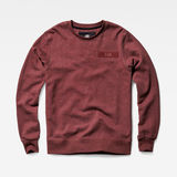 G-Star RAW® Core Sweater Rojo flat front