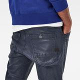 G-Star RAW® Powel Super Slim Cargo Pants Bleu foncé model back zoom