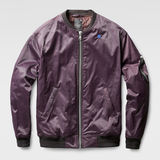 G-Star RAW® Cade Bomber Lila flat front
