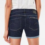 G-Star RAW® Attacc Mid Waist Shorts Dark blue front flat