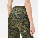 G-Star RAW® Bronson 3D Tapered Sport Coral Chino Green model back zoom