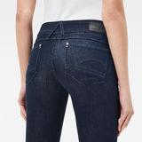 G-Star RAW® Lynn Mid Waist Skinny Jeans Bleu foncé