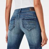 G-Star RAW® Midge D-Cody Mid Waist Skinny Jeans Midden blauw