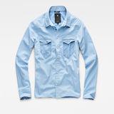 G-Star RAW® Tacoma Wide-Sleeve Boyfriend Cropped Shirt Medium blue