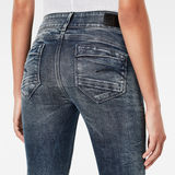 G-Star RAW® Midge D-Cody Mid Waist Skinny Jeans Bleu foncé