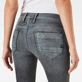 G-Star RAW® Powel Mid Waist Skinny Jeans Grey