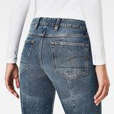 G-Star RAW® Lanc 3D High Waist Straight Prestored Jeans Medium blue
