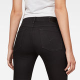 G-Star RAW® 3301 Mid-Waist Skinny Jeans Black