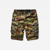 G-Star RAW® Rovic rc relaxed 1/2 Shorts Multi color model front