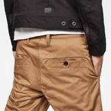 G-Star RAW® Bronson Slim Chino Brown model back zoom
