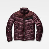 G-Star RAW® Deline Quilted Jacket Purple model front