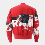 G-Star RAW® Rackam Twill Bomber Rot model side