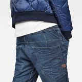 G-Star RAW® Type C 3D Sport 1/2-Length Shorts Dark blue model back zoom