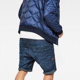 G-Star RAW® Type C 3D Sport 1/2-Length Shorts Dark blue model back