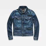 G-Star RAW® D-Staq 3D Deconstructed Jacket Medium blue flat front