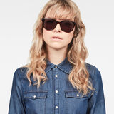 G-Star RAW® Combo Daixen Sunglasses Brown