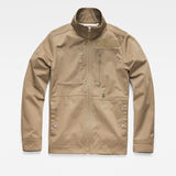 G-Star RAW® Powel Deconstructed Jacket Green flat front