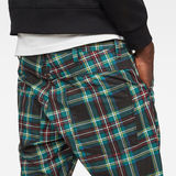G-Star RAW® 5621 Tapered Men's Shorts Black front flat