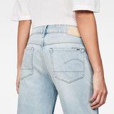G-Star RAW® 3301 Mid waist Boyfriend Ripped 7/8-Length Jeans Bleu moyen