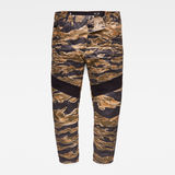 G-Star RAW® Motac-X Deconstructed 3D Relaxed Cropped Pants Multi color front