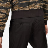 G-Star RAW® Bronson Pleated Relaxed Tapered Chino Black model back zoom