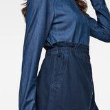 G-Star RAW® Bronson Paperbag Mini Skirt Dark blue