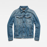 G-Star RAW® 3301 Deconstructed Slim Jacket Medium blue flat front