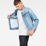 G-Star RAW® 3301 Slim Jacket Medium blue model side