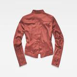 G-Star RAW® Vodan Dc Cropped Open Back Shirt Brown