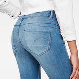 G-Star RAW® D-Staq 5-Pocket Mid Waist Skinny Jeans Medium blue