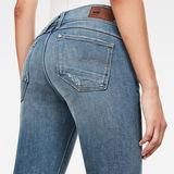 G-Star RAW® Lynn Mid Waist Skinny Jeans Medium blue