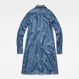 G-Star RAW® Deline Frill Dress Medium blue
