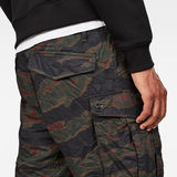 G-Star RAW® Rovic Pm Relaxed 1/2 Shorts Green model back zoom