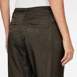 G-Star RAW® Boxxa 3D Mid waist Boyfriend Cargo Pants Grey model back zoom