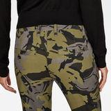G-Star RAW® Bronson Mid Waist Skinny Pants Grey model back zoom