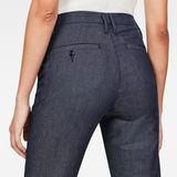 G-Star RAW® Bronson High Waist Skinny Chino Dark blue model back zoom
