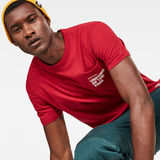 G-Star RAW® Graphic 5 Pocket T-Shirt Red