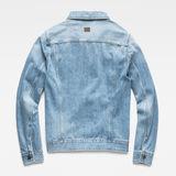 G-Star RAW® 3301 Slim Jacket Medium blue flat back