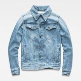G-Star RAW® 3301 Slim Jacket Medium blue flat front