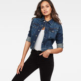 G-Star RAW® 3301 Classic Denim Jacket Dark blue model front