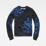 G-Star RAW® Graphic Shield 2 Xzula Sweater Dark blue flat front