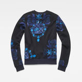 G-Star RAW® Graphic Shield 2 Xzula Sweater Dark blue flat back