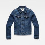 G-Star RAW® 3301 Slim Jacket Dark blue flat front