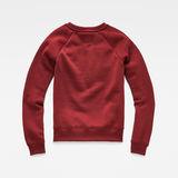 G-Star RAW® Graphic 18 Xzula Sweater Red flat back