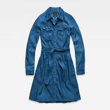 G-Star RAW® Tacoma Dress Medium blue flat front