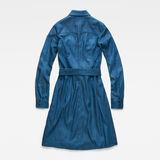 G-Star RAW® Tacoma Dress Medium blue flat back