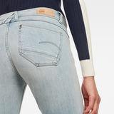 G-Star RAW® Lynn Mid Waist Skinny Ripped Jeans Light blue